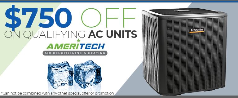 new ac unit sale - 750 off coupon